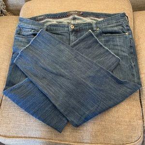 EUC  Torrid Boyfriend Jeans - size 20R - ankle